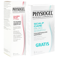 PHYSIOGEL Calming Relief A.I.Creme + PHYSIOGEL Scalp Care mildes Shampoo GRATIS